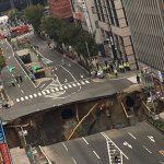 福岡県の博多駅前で道路陥没で交通規制!復旧のメドは?避難所は?