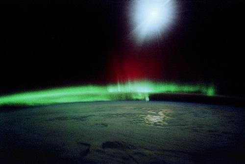 Auroras are light