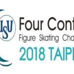 四大陸フィギュアスケート選手権大会2018の日程と出場選手TV放送